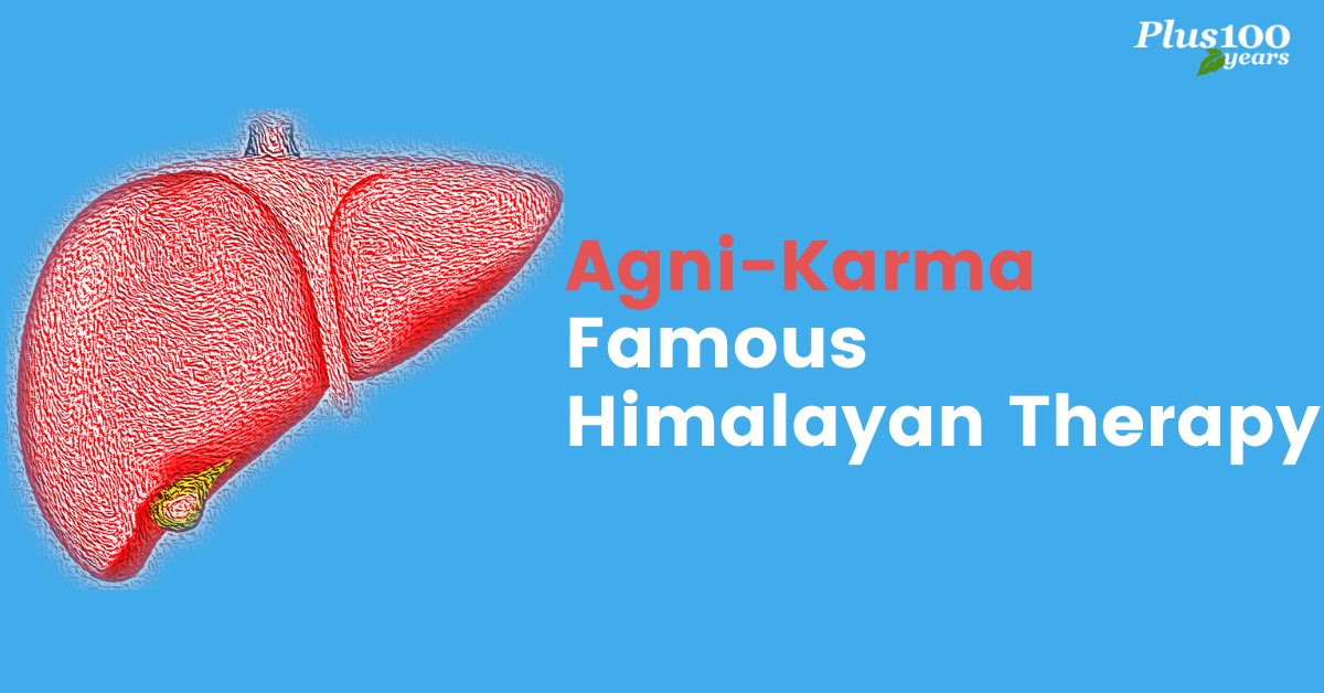 Agni Karma Therapy for Liver and Stomach Disorders