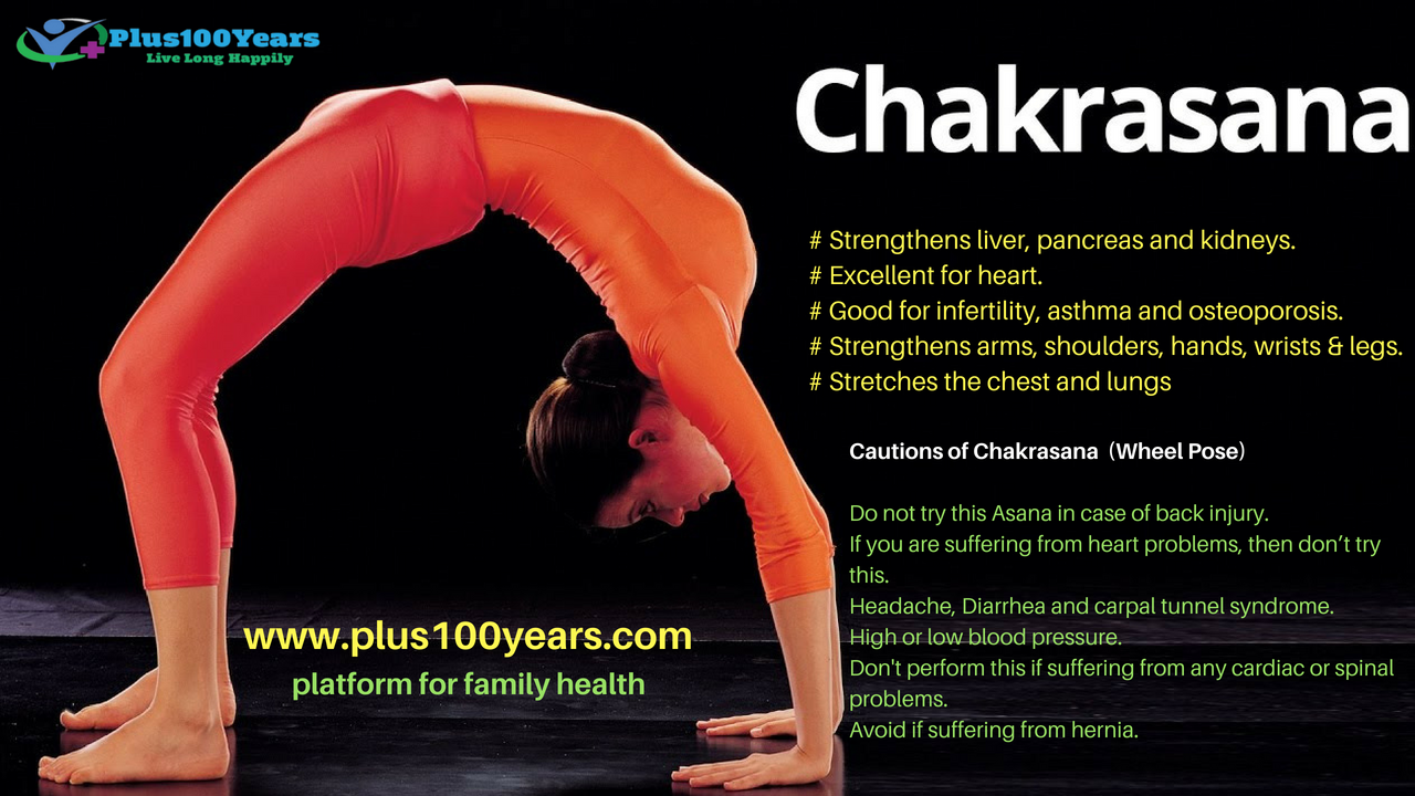 Health Benefits of Chakrasana