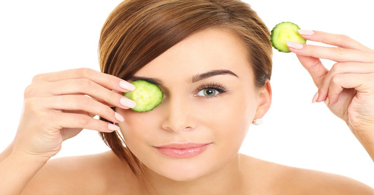 Cooling Effect of Cucumber on Eyes