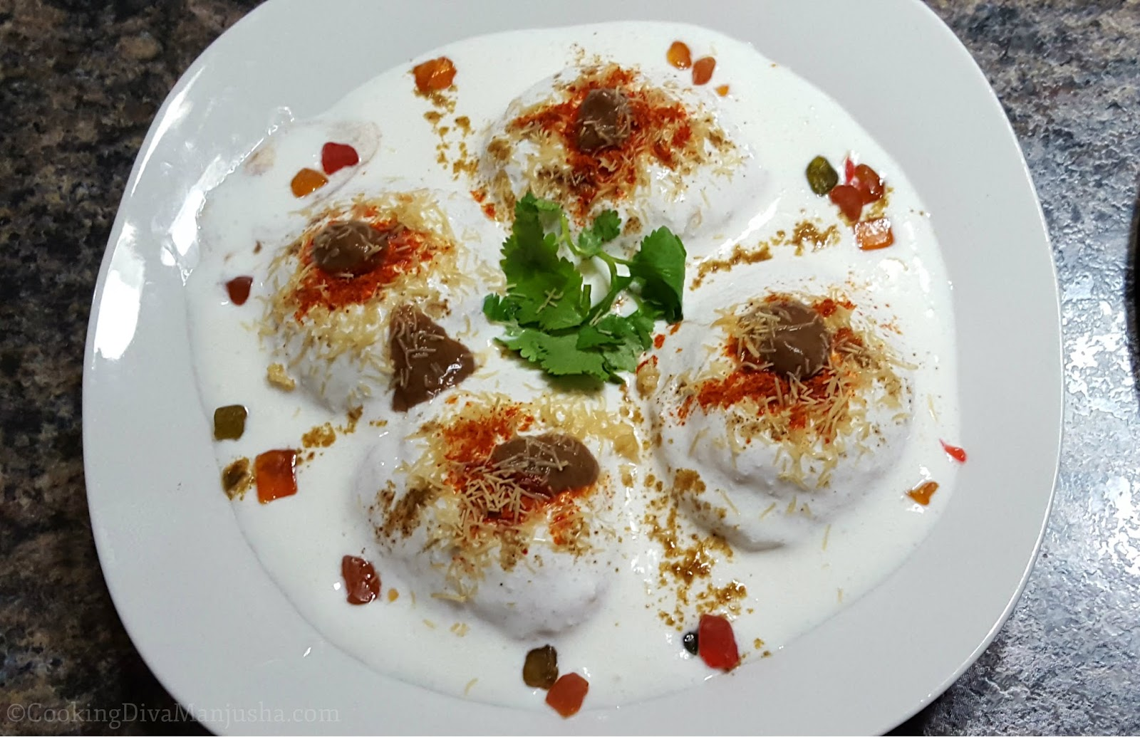 How to Make Dahi Vada Recipe - Super Cool Summer Recipe