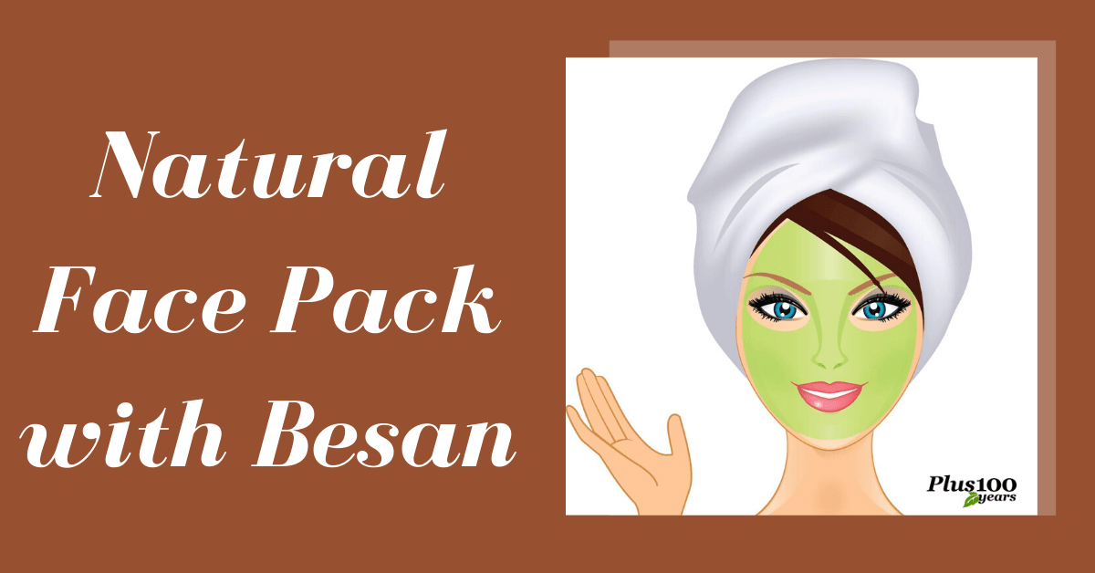 Homemade Besan Face Pack for Glowing Skin