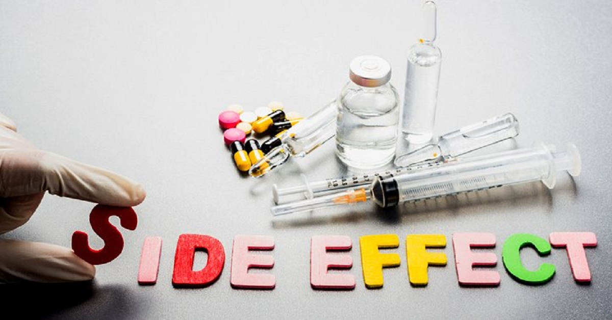 What are the most common side effects of medicine on your body?